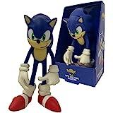 Boneco Grande Sonic World Colecionável 23cm Pvc