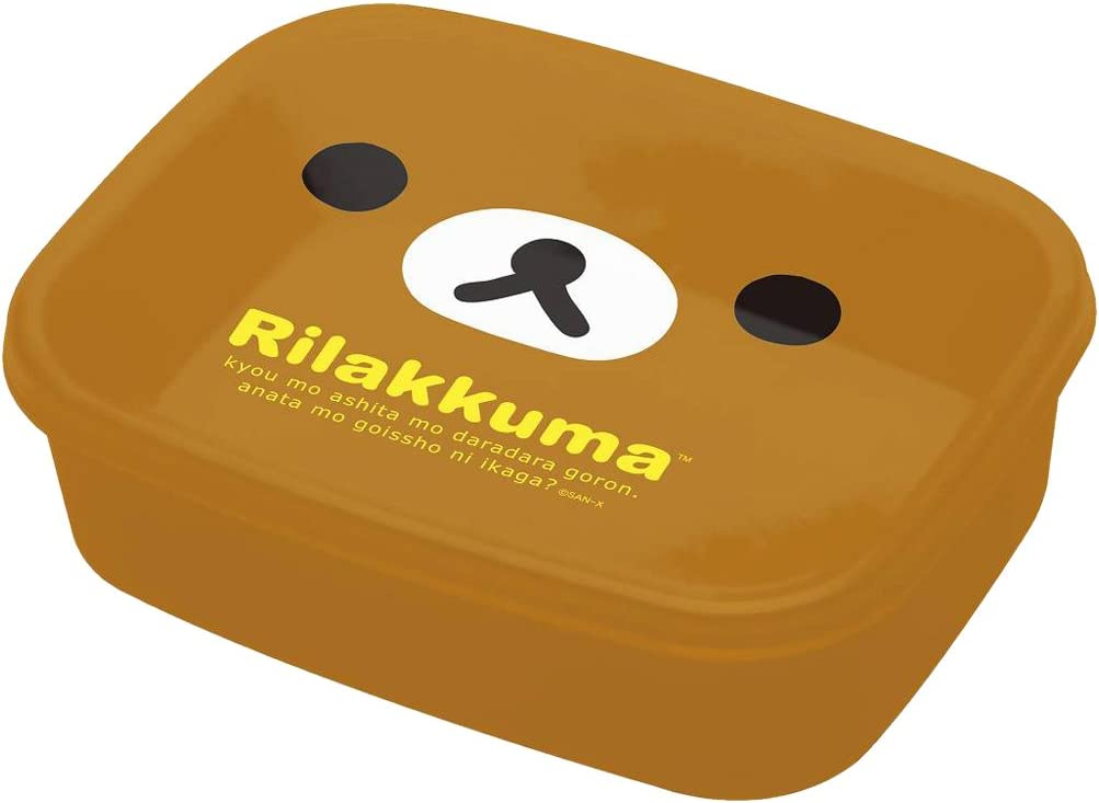 San-X Rilakkuma, Korilakkum, Kiiroitori Face Lunch Box Nested Type Bento Box (3pcs Set KY41201)