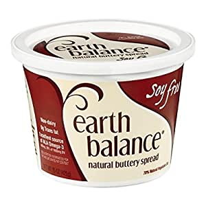 Earth Balance Soy-Free Natural Buttery Spread, 15 Ounce -- 12 per case.