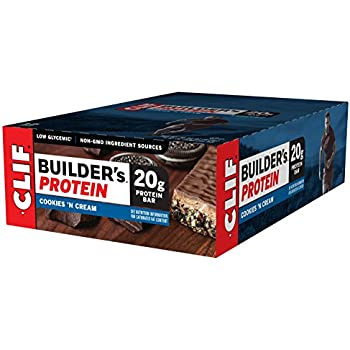 Amazon.com: CLIF BUILDER'S - Protein Bar - Cookies and ...