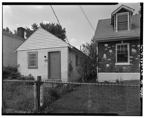 HistoricalFindings Photo: 1815 Magazine Street House,Louisville,Jefferson County,KY,Kentucky,HABS,2 (Best Of Louisville Magazine)