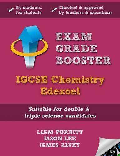 Exam Grade Booster: Igcse Chemistry Edexcel by Liam Porritt (2016-03-07)