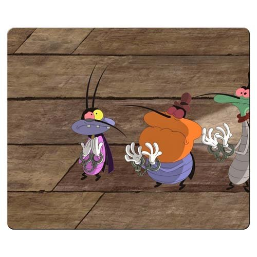 26x21cm-10x8inch-gaming-mouse-mat-rubber-cloth-computer-customized-oggy-et-les-cafards
