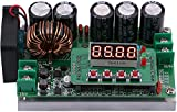 Yeeco Numerical Control DC DC Boost Voltage Converter, 6-40V to 6-80V 8A 400W Step Up Voltage Regulator Stablizer CC CV Power Transformer Supply Module Board Voltmeter Ammeter with LED Digital Display