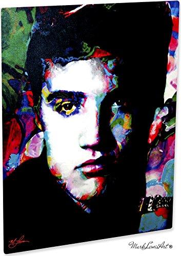 Mark Lewis Art Elvis Presley Artwork Abstract Modern Paintings Signed Print   Wall Art Ee