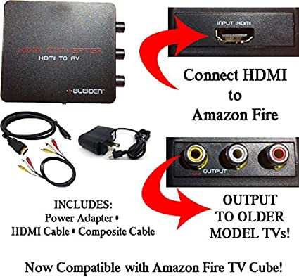 Video Cables & Interconnects HDMI to 3RCA Composite AV Converter ...