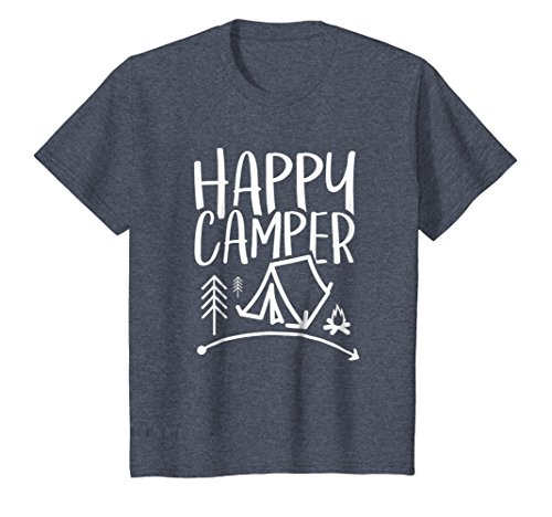 Happy Camper - Camping T-Shirt for Men, Women, and Kids