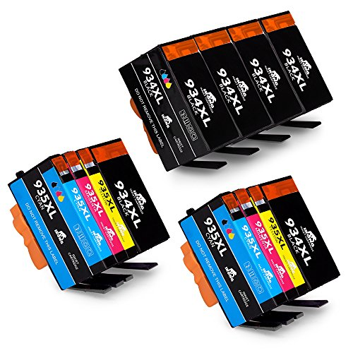 IKONG 2 Set+4bk High Yield Replacement for HP 934 935 Ink Cartridges ( New Updated Chips ) Compatible with HP Officejet Pro 6830 6835 6230 6812 6815 6820 6220 Printers