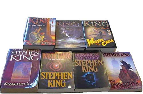The Dark Tower Series Collection: The Gunslinger, The Drawing of the Three, The Waste Lands, Wizard and Glass, Wolves of the Calla, Song of Susannah, The Dark Tower - Book  of the Dark Tower