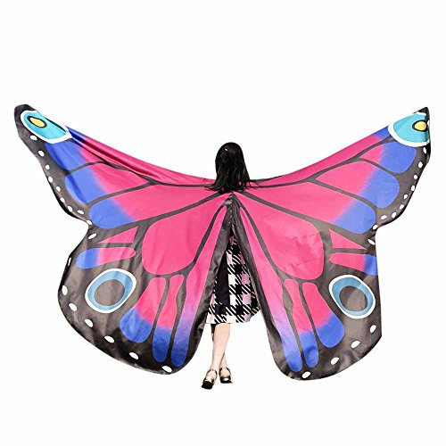 (Butterfly Wings Toys Kids Baby Girl Belly Dancing Costume Unisex Children Butterfly Wings Dance Accessories No Sticks ICODOD(Hot)