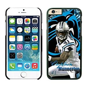 NFL Carolina Panthers Captain Munnerlyn iPhone 6 Cases Black 4.7 Inches NFLIphoneCases13190 by kobestar