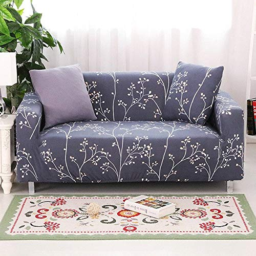 Farmerly Elastic Sofa Cover Armrest Slipcovers All-Inclusive L-Shaped Sofa Cover Stretch Furniture Covers copridivano 1 2 3 4 Seater 1PC   color 18, 1seater 90-140cm