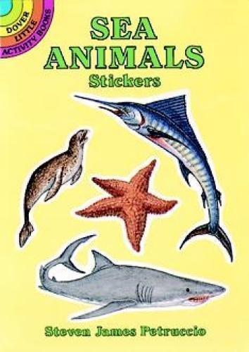 Book Animals Activity Sea (Sea Animals Stickers (Dover Little Activity Books Stickers))