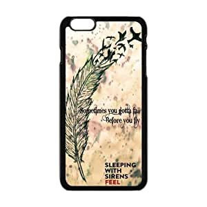 """Danny Store Hardshell Cell Phone Cover Case for New iPhone 6 Plus (5.5""""), Sleeping with Sirens"""