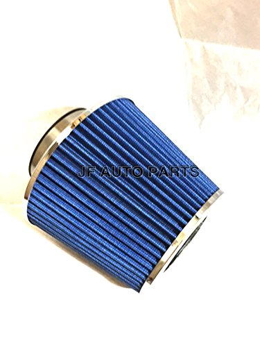 """Price comparison product image 3"""" 6.25""""H COLD / SHORT RAM INTAKE HIGH FLOW CONE BLUE AIR FILTER"""