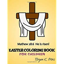 Easter Coloring Book: For Children