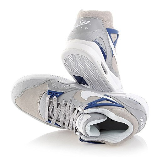 Nike - Zapatillas de tenis Air Tech Challenge II Azul-Gris