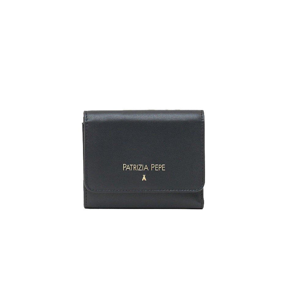 9fed6a2c7c2 PATRIZIA PEPE Wallet Female Black - 2V7081-A2RB-K103: Amazon.co.uk: Shoes &  Bags