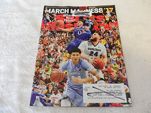 Sports Illustrated Magazine (March 20, 2017) March Madness Basketball Cover