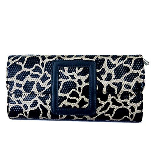 borsa a mano nuova ondata di donne europee e americane borse in pelle di moda borsa a mano borsa borsa piccola femmina di leopardo diagonale oro