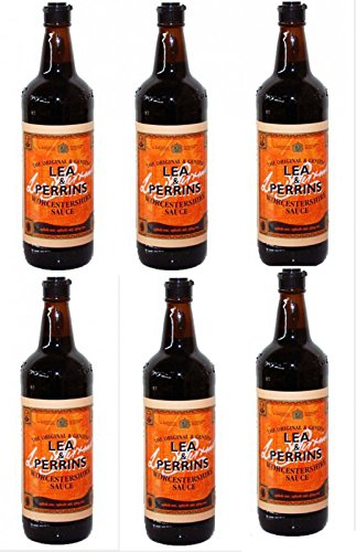 Lea & Perrins Worcestershire Sauce 6 x 290ml
