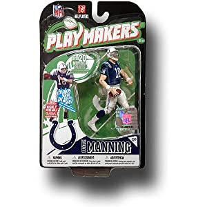 McFarlane Toys Indianapolis Colts Peyton Manning Playmakers Series 1 Action Figurine