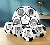 Studio Silversmiths 5 Piece Soccer Photo Frame Set