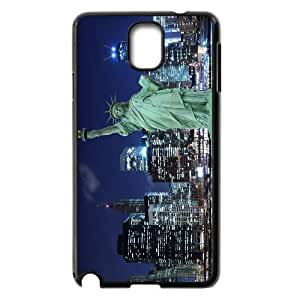-ChenDong PHONE CASE- For Samsung Galaxy NOTE3 Case Cover -Statue of Liberty-UNIQUE-DESIGH 3