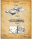 Mouse Trap - 11x14 Unframed Patent Print - Makes a Great Gift Under $15 for Inventors or Farm Decor