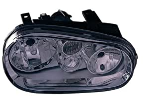 OE Replacement Volkswagen Golf/GTI/GTA Passenger Side Headlight Assembly Composite (Partslink Number VW2503119)