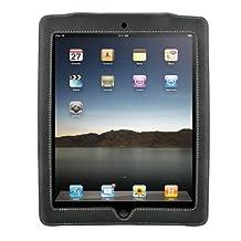 MEElectronics XCASE-BK Genuine Leather Case for iPad (Black)