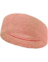 3 inch wide headband for fashion spa sports use, LIGHT PINK (1 Piece)