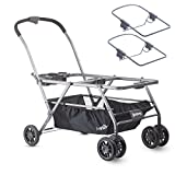 JOOVY Twin Roo Plus Car Seat Stroller with Chicco Adapters