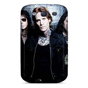 AshleySimms Samsung Galaxy S3 Shock Absorbent Hard Cell-phone Cases Support Personal Customs Stylish Kid Rock Band Pictures [maB51Hbxu]