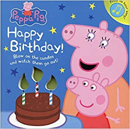 Peppa Pig Happy Birthday Board Book 19 Oct 2017