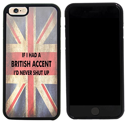 Accent Phone (Rikki Knight Case Cover for iPhone 6/6s - If I had a British Accent Flag)
