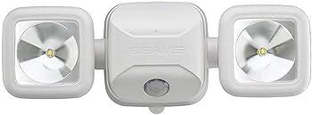 Mr. Beams Wireless Motion Sensing Led Dual Head Security Spotlight