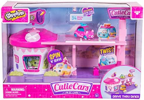 Cutie Cars Shopkins S1 Drive Thru Diner