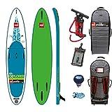 Red Paddle Co EXPLORER MSL 12'6 x 32'' (2017 Series) Includes Bundle. Titan Pump - Backpack - ERS Pressure Gauge + Pumped Up SUP Sticker