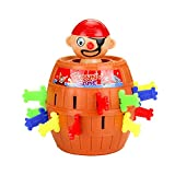 SwirlColor Pop-out pirate bucket insert sword funny game trick toys