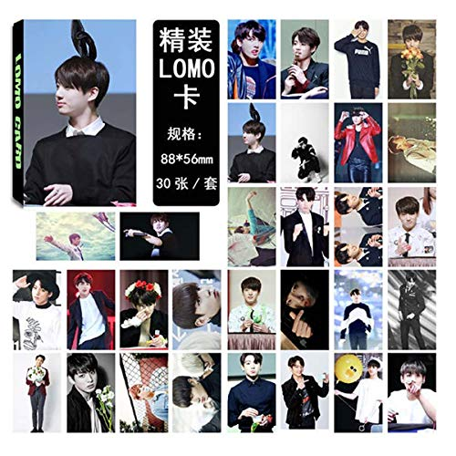 Jewelry & Accessories Kpop Bts Bangtan Boys Army Love Yourself Album Lomo Cards K-pop New Fashion Self Made Paper Photo Card Hd Photocard To Reduce Body Weight And Prolong Life