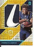 Football NFL 2016 Unparalleled RPS Rookie Materials Brand Logo #26 Pharoh Cooper MEM 1/2 LA Rams