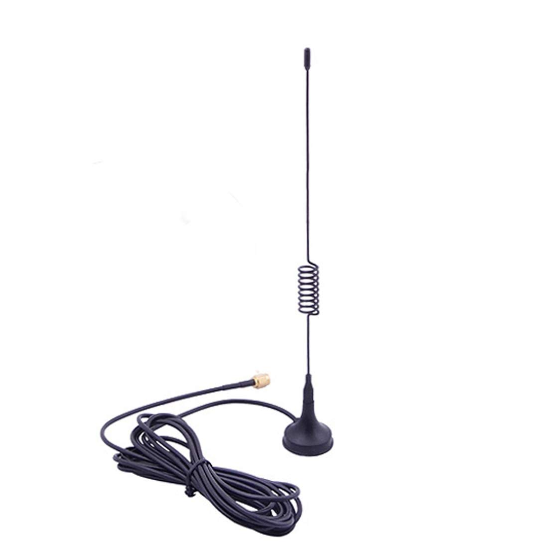 Black Cable Length: 3m Color : Black RP-SMA Network Antenna JHM Computer Networking WiFi Antenna SMA 900//1800MHz Suction Cup GSM Antenna