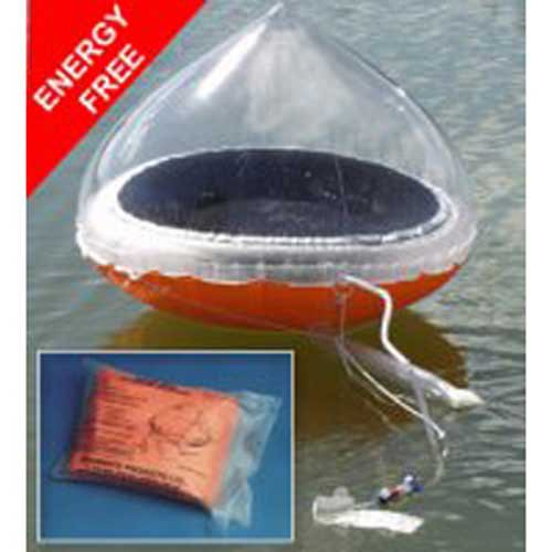 Echomax EMAMSSM, Aquamate Inflatable Solar Still Desalinator, for Liferafts, 1 Pack