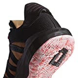 adidas Unisex Dame 6 Basketball Shoe, Black/Signal