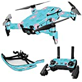 MightySkins Skin for DJI Max Coverage – Water Flowers | Protective, Durable, and Unique Vinyl Decal wrap Cover | Easy to Apply, Remove, and Change Styles | Made in The USA For Sale