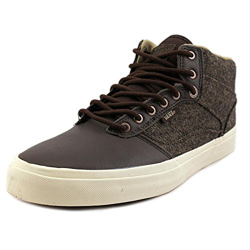 Vans Herren Bedford Low Top Lace Up Fashion Sneakers (Tweed) Braun / Turteltaube