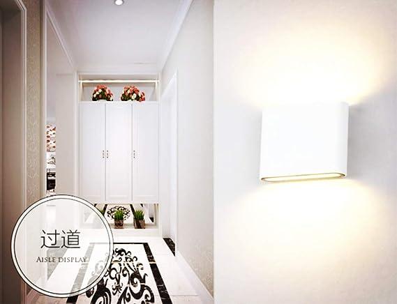 Lightsjoy Lc1ktjf3 Aluminium Applique En 6w Led Murale Moderne Lampe YeIbHEWD29