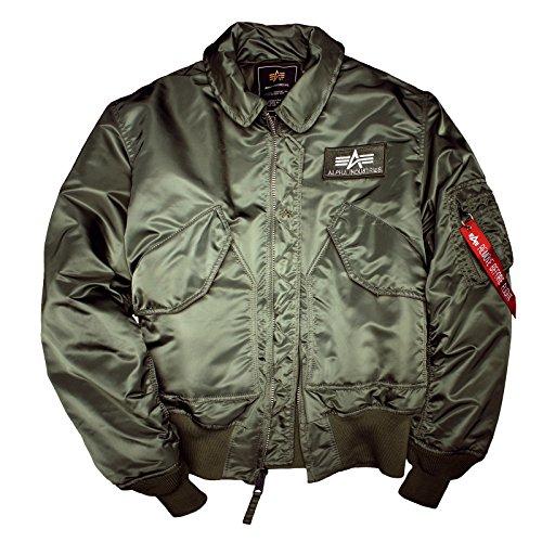 Camicia Salvia Uomo Verde Giacca Alpha Industries 0qZaEE