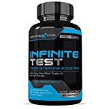Infinite Test Natural TESTOSTERONE Booster for Men (60 Caplets) Boost Lean Muscle Growth, Strength, Libido, Energy, Metabolism & Fat Loss - Superior Cutting-Edge Ingredients